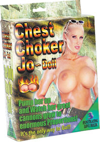 Chest Choker Jo Doll PVC inflatable BB