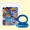 Cock ring vibrátoros-kék-