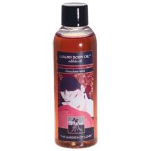 LUXURY BODY OIL - edible oil, luxury body oil - chocolate-mint - 100ml