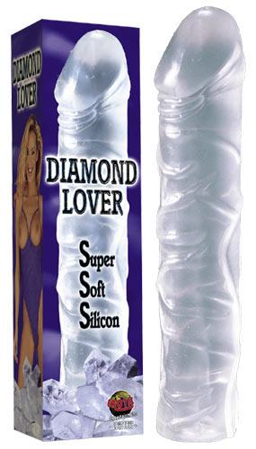 Gyémánt szerető - kristálytiszta dildó