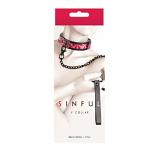 Sinful - 1'' Collar - Pink