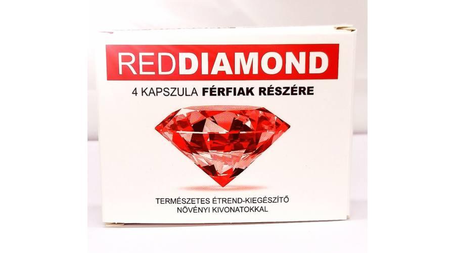 Red Diamond - Étrend-kiegészítő Férfiak részére  4 db kapszula