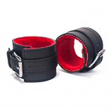 Hand Cuffs Grain Leather