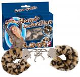 Plüss bilincsek - leopárd