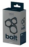 VeDO Bolt - szilikon péniszgyűrű szett (3db)