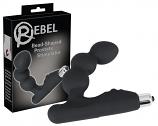Rebel - gömbös prosztata vibrátor (fekete)