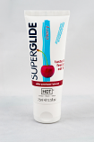 HOT Superglide edible lubricant waterbased - CHERRY - 75ml