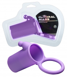 Clitoral Mass - péniszmandzsetta heregyűrűvel (lila)