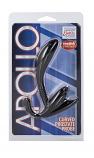 APOLLO CURVED PROSTATE PROBE - BLACK